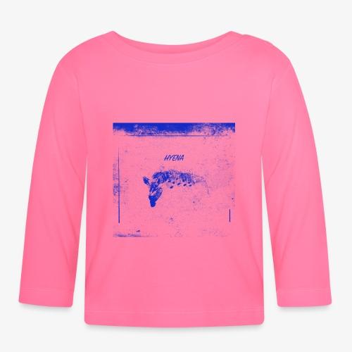 Hyena Blue - Långärmad T-shirt baby