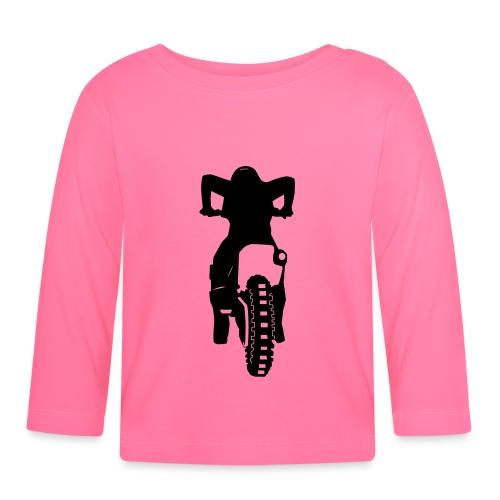 Motocross Start - Baby Langarmshirt