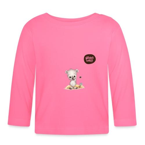 Noah der kleine Bär - mit Logo - Baby Langarmshirt