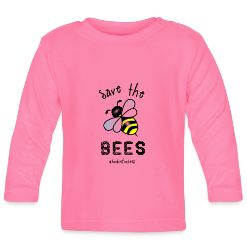 Bees4-1 save the bees | Bookrebels - Baby Long Sleeve T-Shirt