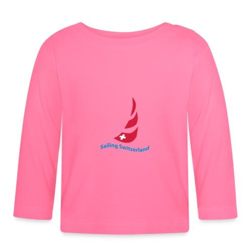 logo sailing switzerland - Baby Langarmshirt