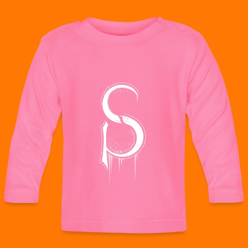 SCP-sign-WHITE transp - Baby Long Sleeve T-Shirt