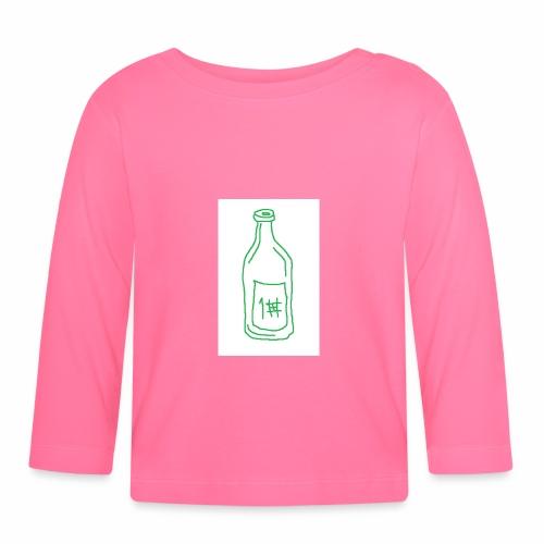 Alkoholi - Vauvan pitkähihainen paita