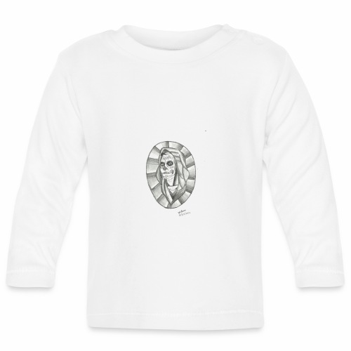 catrina desenho 25 01 2012 001 - Camiseta manga larga bebé