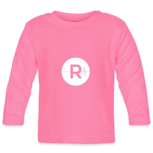 REVIVED Small R (White Logo) - Baby Long Sleeve T-Shirt