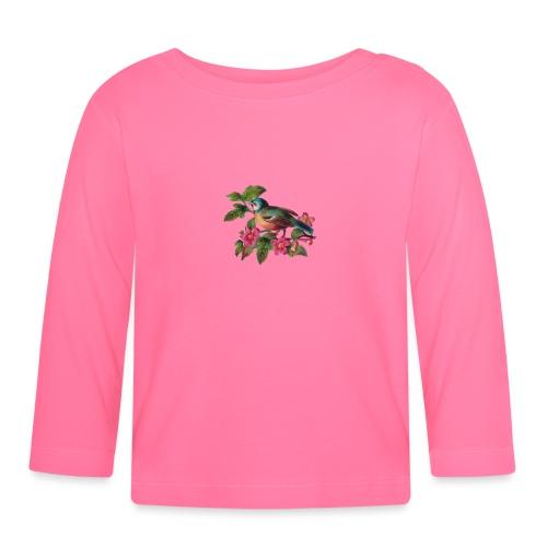 vintage vogeltjes patch - T-shirt