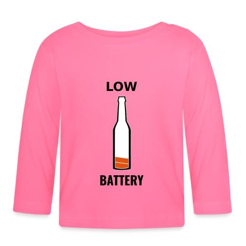 Beer Low Battery - T-shirt manches longues Bébé