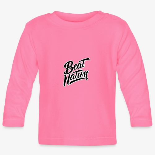 Logo Officiel Beat Nation Noir - Baby Langarmshirt