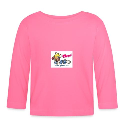 panki sticker neu - Baby Langarmshirt