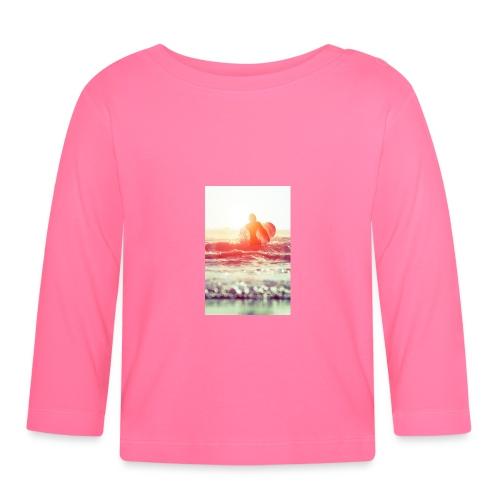 sunset surf jpg - Baby Long Sleeve T-Shirt