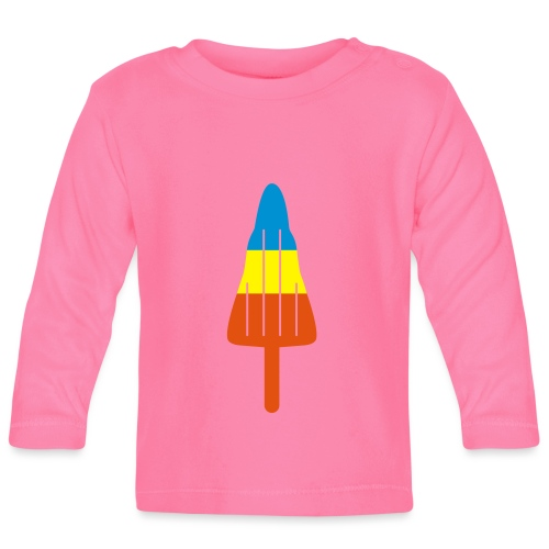 ZOOM ROCKET LOLLY: choose three different flavours - Baby Long Sleeve T-Shirt