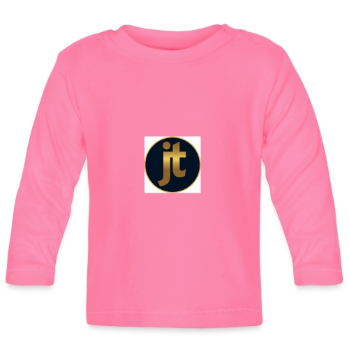 Golden jt logo - Baby Long Sleeve T-Shirt