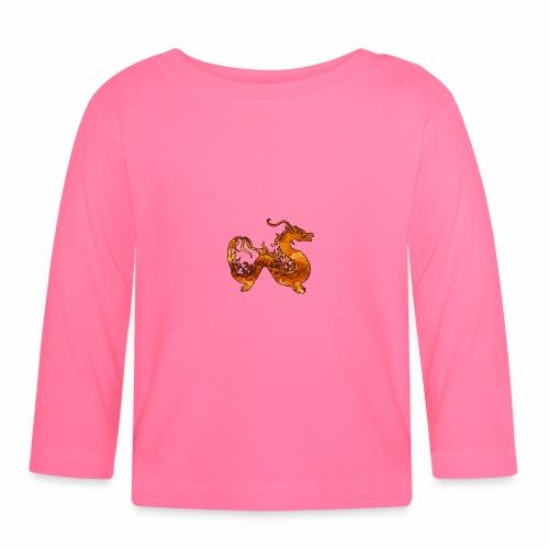 Le Dragon du Feu -J'peux pas j'ai un Dragon du Feu - T-shirt manches longues Bébé