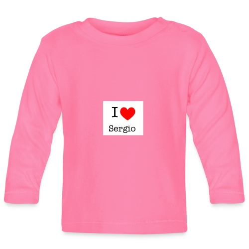 i love sergio - T-shirt manches longues Bébé