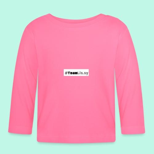 #TeamLis.sy - Baby Langarmshirt