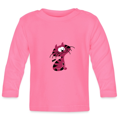Miezekatze Cat (c) - Baby Langarmshirt