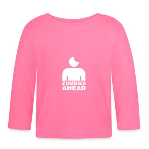 Zombies Ahead - Långärmad T-shirt baby