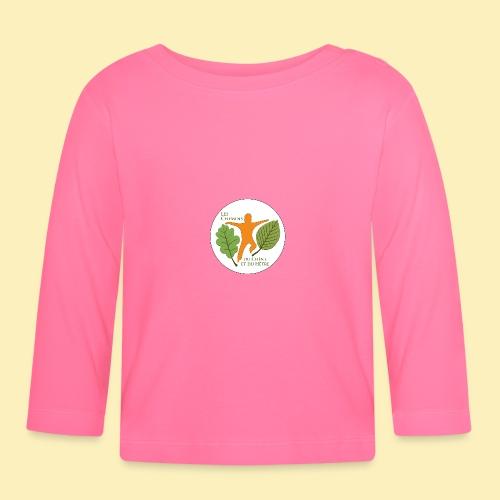 Logo des Chemins du Chêne et du Hêtre - T-shirt manches longues Bébé