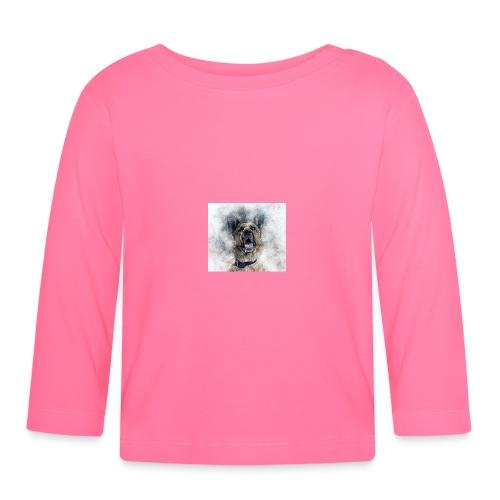 dog hund - Baby Langarmshirt
