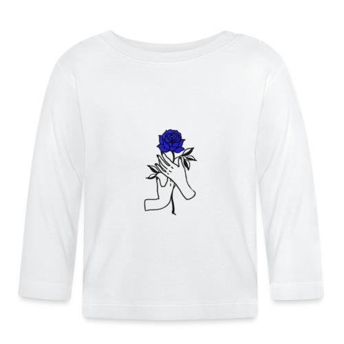 Fiore blu - Maglietta a manica lunga per bambini
