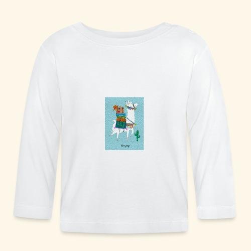 Lama Gang - Baby Langarmshirt