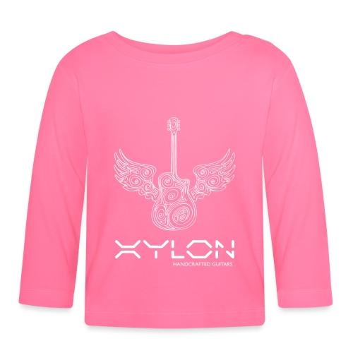 Xylon Guitars Premium T-shirt (white design) - Baby Long Sleeve T-Shirt