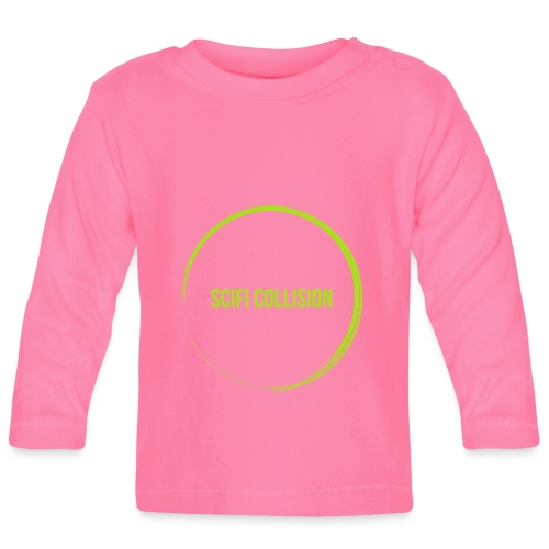 Lime Green SC Logo - Baby Long Sleeve T-Shirt