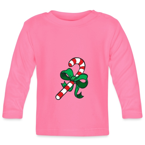 candy Cane - Baby Long Sleeve T-Shirt