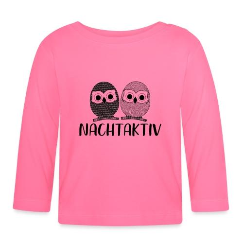 Nachtaktiv - Baby Langarmshirt