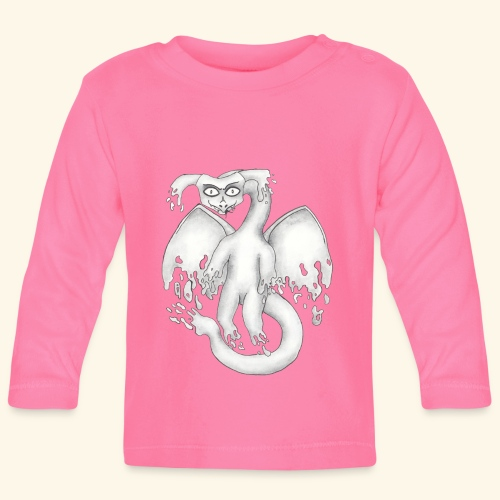 Spökdrake - Långärmad T-shirt baby