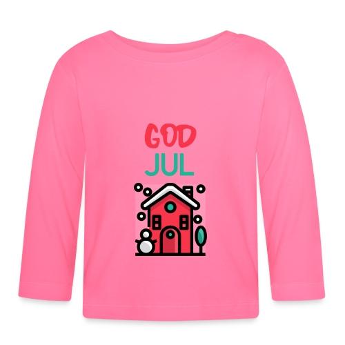 God jul - Langarmet baby-T-skjorte