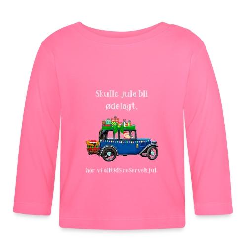 Morsomt julemotiv - Langarmet baby-T-skjorte