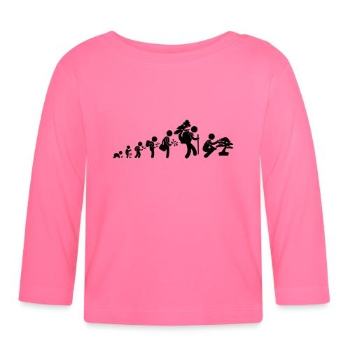 bonsaka_evolution_sans - T-shirt manches longues Bébé