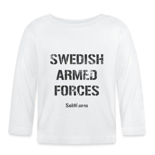 Swedish Armed Forces - Långärmad T-shirt baby