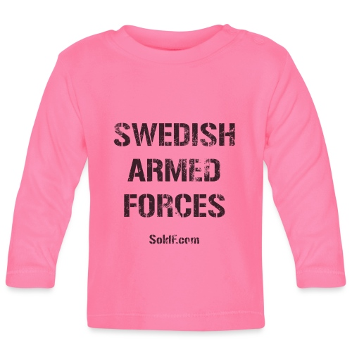 Swedish Armed Forces - Långärmad T-shirt baby