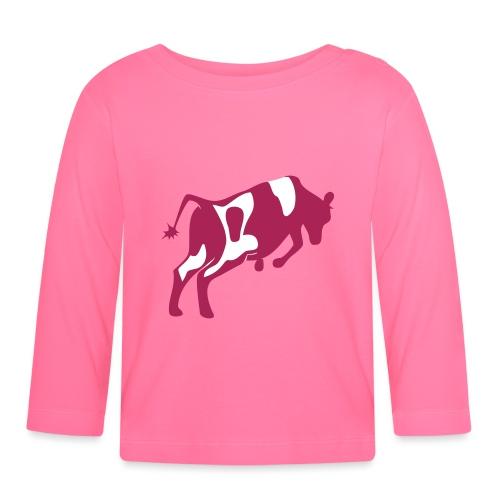 Springende koe vector - T-shirt