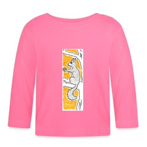 scoiattolo_alma_2015 - Maglietta a manica lunga per bambini
