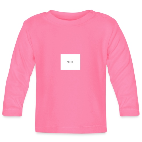 nice - Baby Langarmshirt
