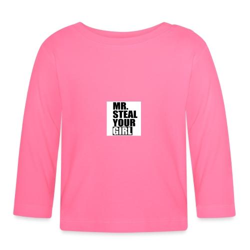 MrStealYourGirl - Langarmet baby-T-skjorte