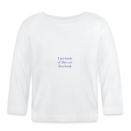 Facebook likes - Baby Long Sleeve T-Shirt