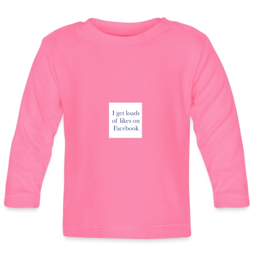 Facebook likes - Baby Long Sleeve T-Shirt