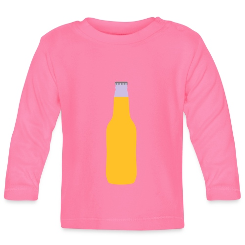 Bierflasche - Baby Langarmshirt