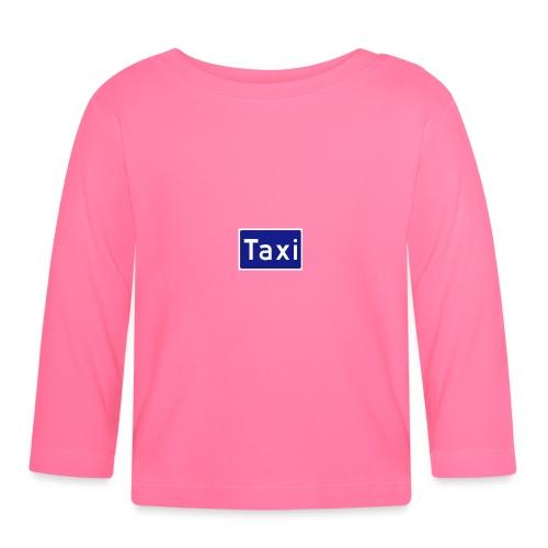Taxi - Langarmet baby-T-skjorte