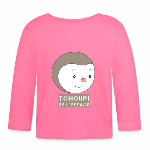 Tchoupi de l'Espace ! - T-shirt manches longues Bébé