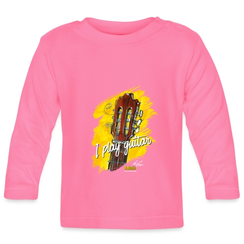 I play guitar - limited edition '19 - Baby Langarmshirt