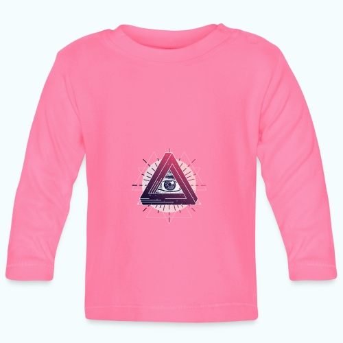 All Seeing Eye - Baby Long Sleeve T-Shirt