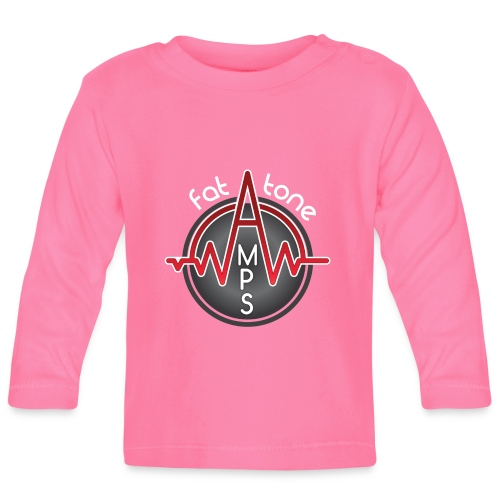 Fat Tone Amps logo - Baby Long Sleeve T-Shirt
