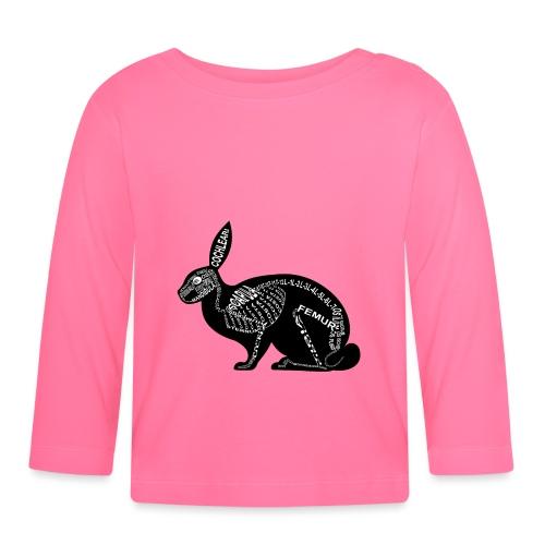 konijn skelet - T-shirt
