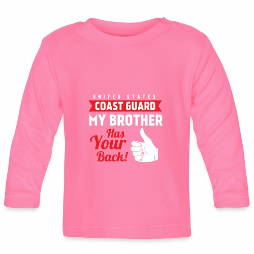 United States Coast Guard My Brother Has Your Back - Baby Langarmshirt