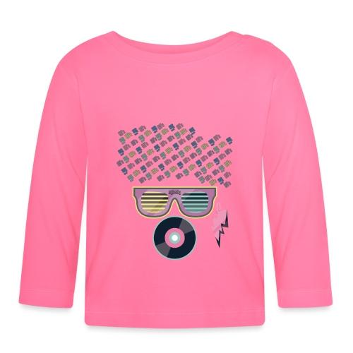 80s afro music - Camiseta manga larga bebé